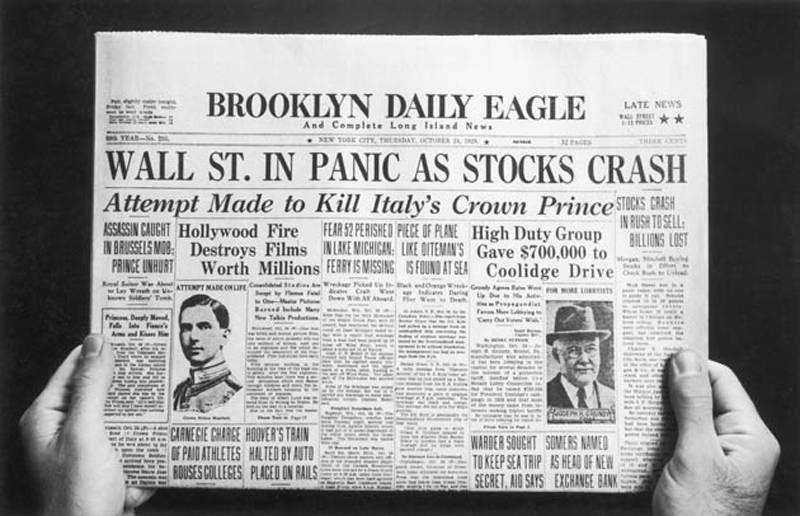 Wall Street Ações Quebra
