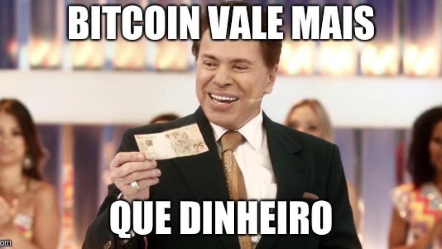 bitcoin vale mais que dinheiro silvio