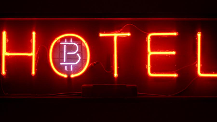 binance coin bitcoin hotel
