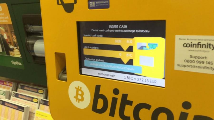 caixa eletronico bitcoin