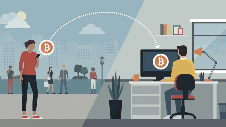 enviando bitcoin