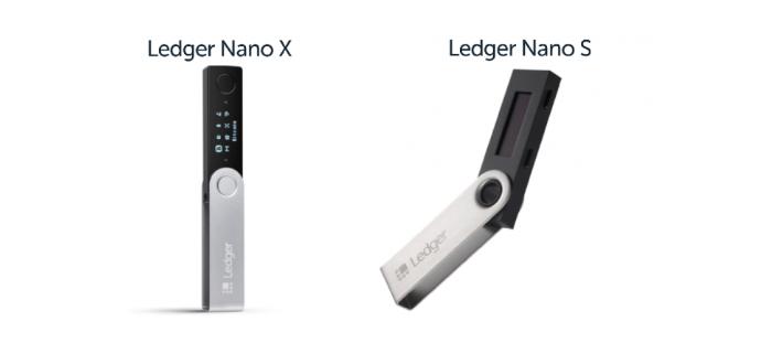 Ledger Nano X vs Ledger Nano S